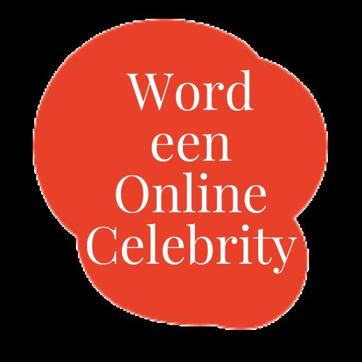 Word een online celebrity cursuslogo